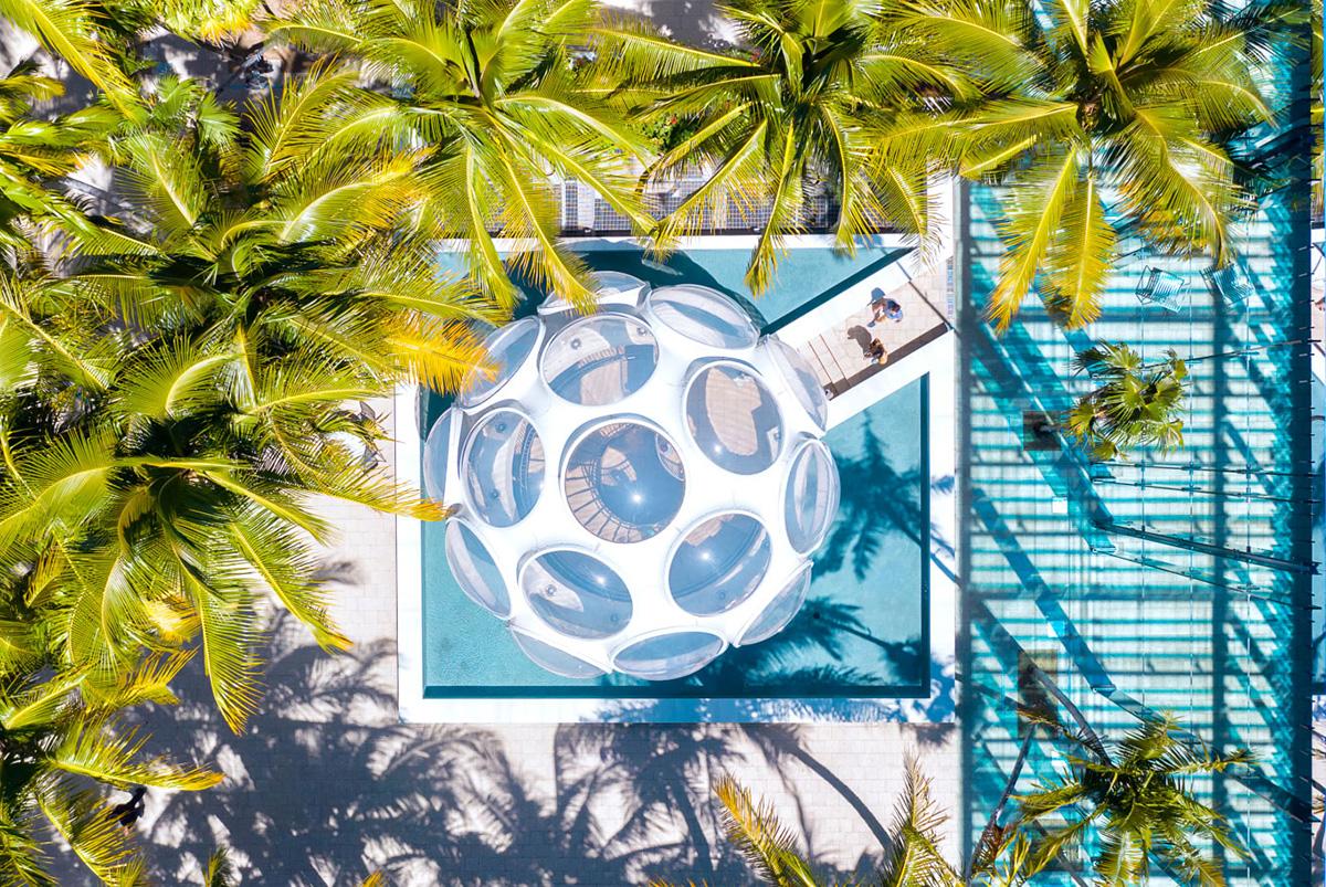 Miami Design District Aerial