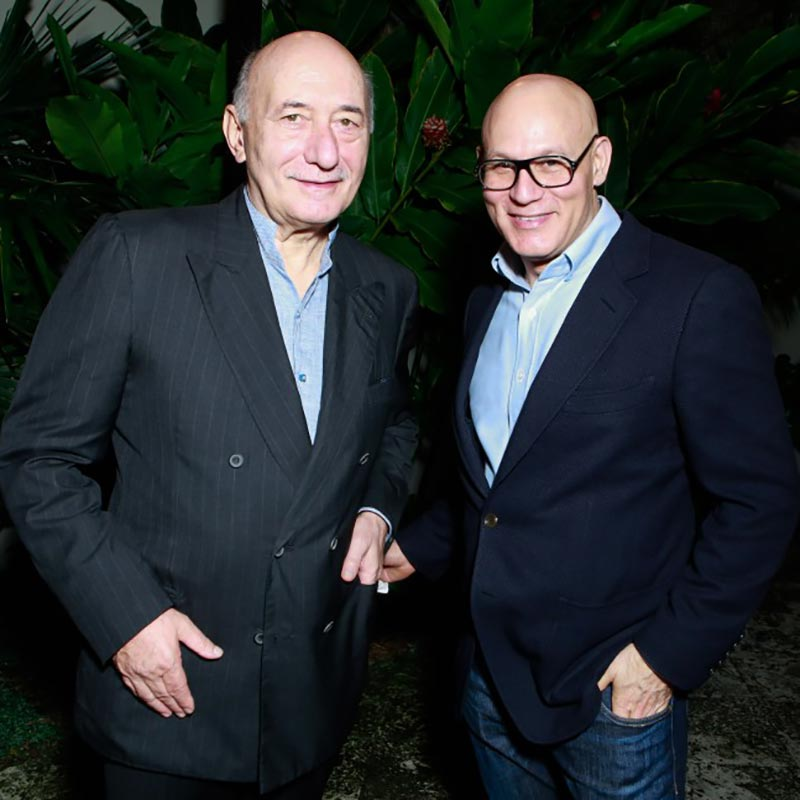 Partying With Panerai at the Home of Miami Design District Creator Craig Robins