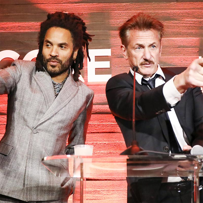 Lenny Kravitz Auctioned Dinner With Himself