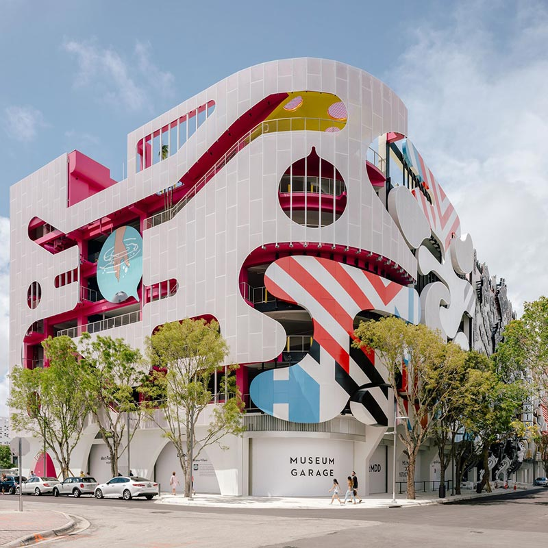 Can a Parking Garage Be a Work of Art? In Miami, It Can!